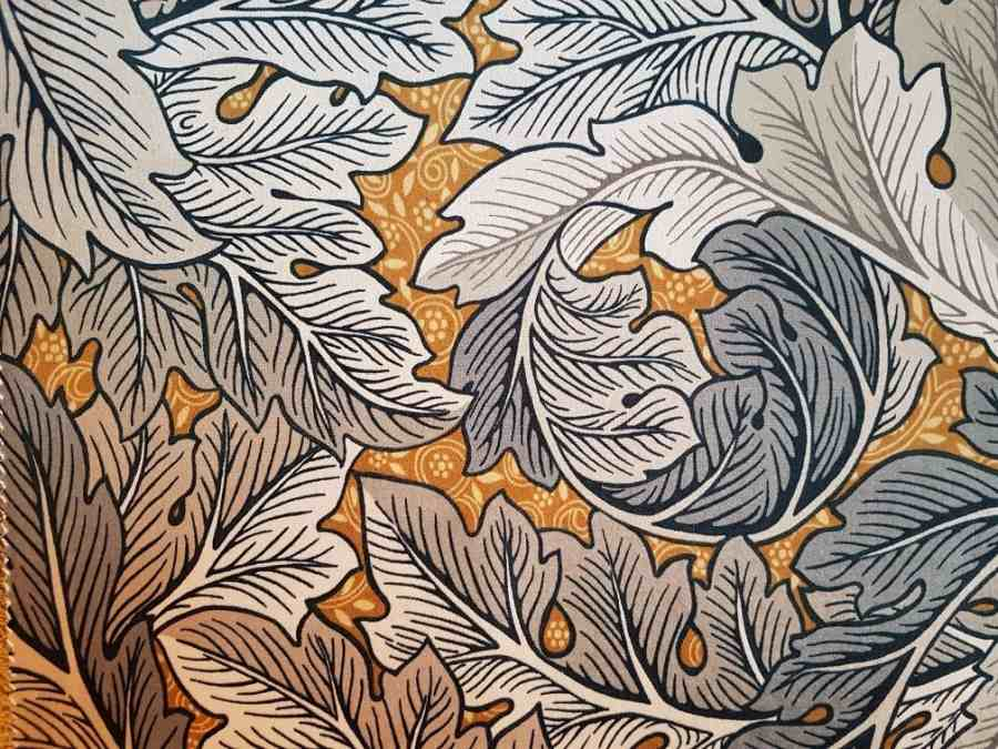 Acanthus Polsterstoff Velour William Morris