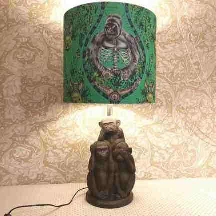 ES Lampe Silverback