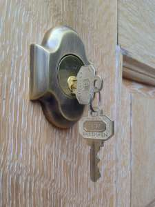 install new lock