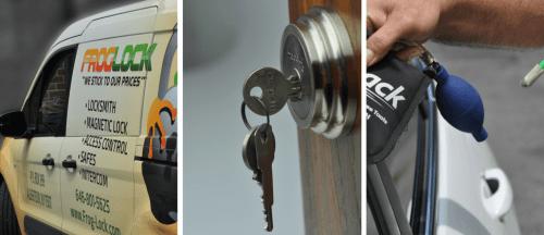 Long Island locksmith install new lock