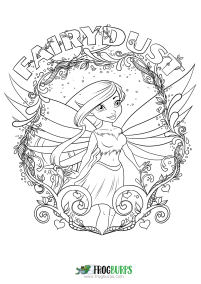 Fairydust | Coloring Page