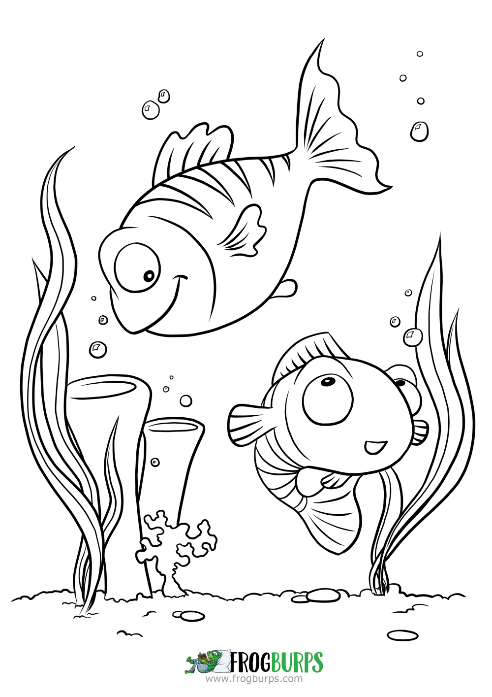 Fish | Coloring Page