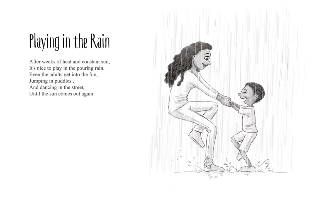 Playing in the Rain - a short story by Patrick S. Stemp and Anita Soelver