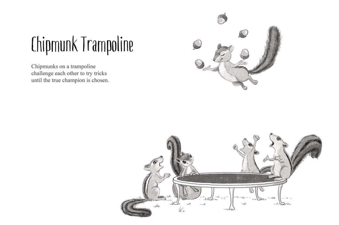 Chipmunk Trampoline - a short story by Patrick S. Stemp and Anita Soelver
