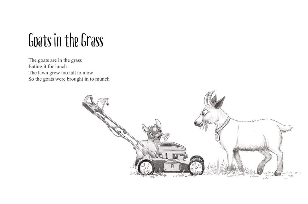 Goats in the Grass - a short story by Patrick S. Stemp and Anita Soelver