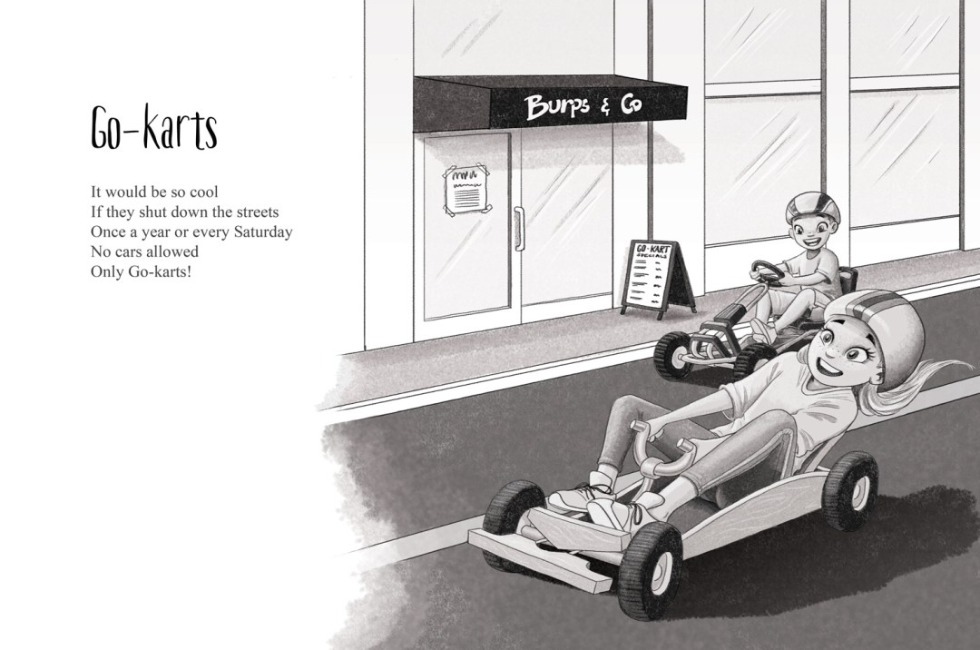Go-karts - a short story by Patrick S. Stemp and Anita Soelver
