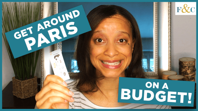 How to Get Around Paris on a Budget Video Thumbnail by Frolic & Courage.