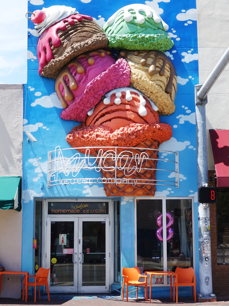 Photo of the street-front of Azucar Ice Cream Company