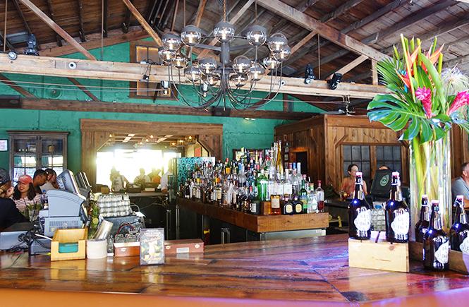 Photo of the bar inside Ball & Chain in Little Havana Miami, Fl.