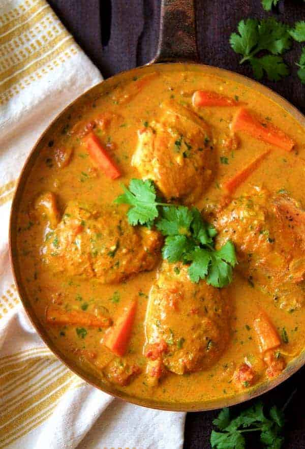 Curry Braised Chicken Thighs Easy Delicious And Budget Friendly