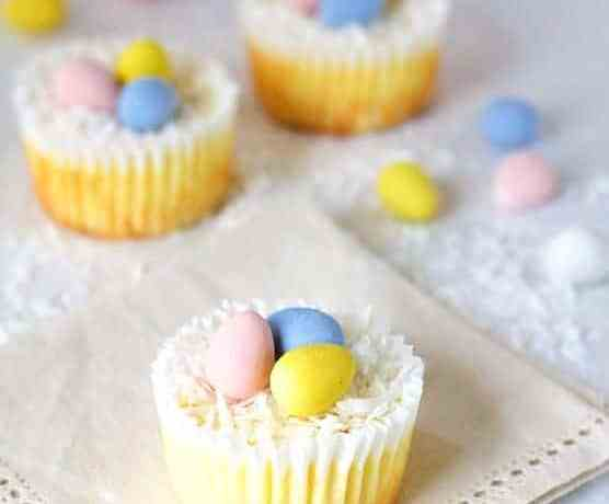 Lighter Mini Cheesecakes