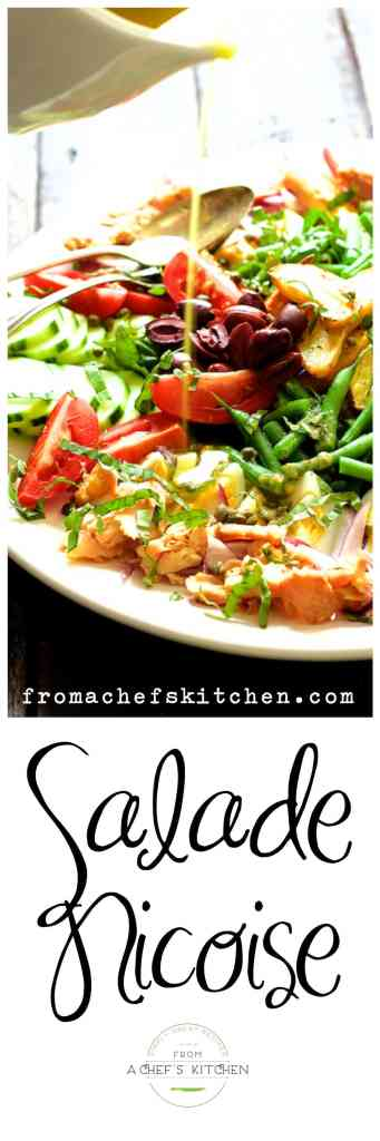 """Make a culinary """"escape"""" to the South of France with classic Salade Nicoise!"""