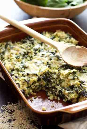 Grains and Greens Casserole
