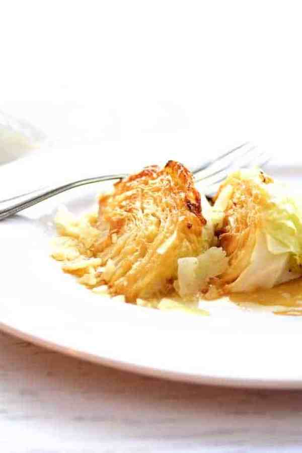 Parmesan Roasted Cabbage Wedges - Elevate a humble vegetable into rock star elegance!