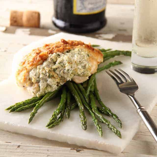 Crab Stuffed Chicken Breasts An Elegant Dinner For Two