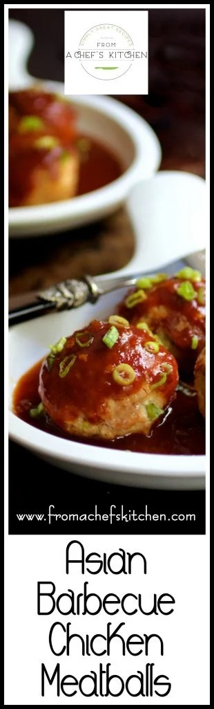 Jumbo-sized Asian Barbecue Chicken Meatballs are a fun way to change up your grilling routine and your meatball routine!