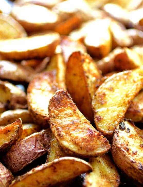Perfect Roasted Potato Wedges
