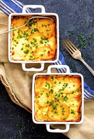 Au Gratin Potatoes for Two