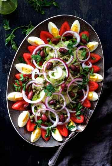 Tunisian Salad Platter (Assiette Tunisienne)