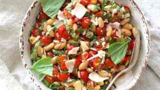 Tuscan Cherry Tomato and White Bean Salad