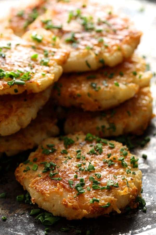 Parmesan Crusted Smashed Turnips