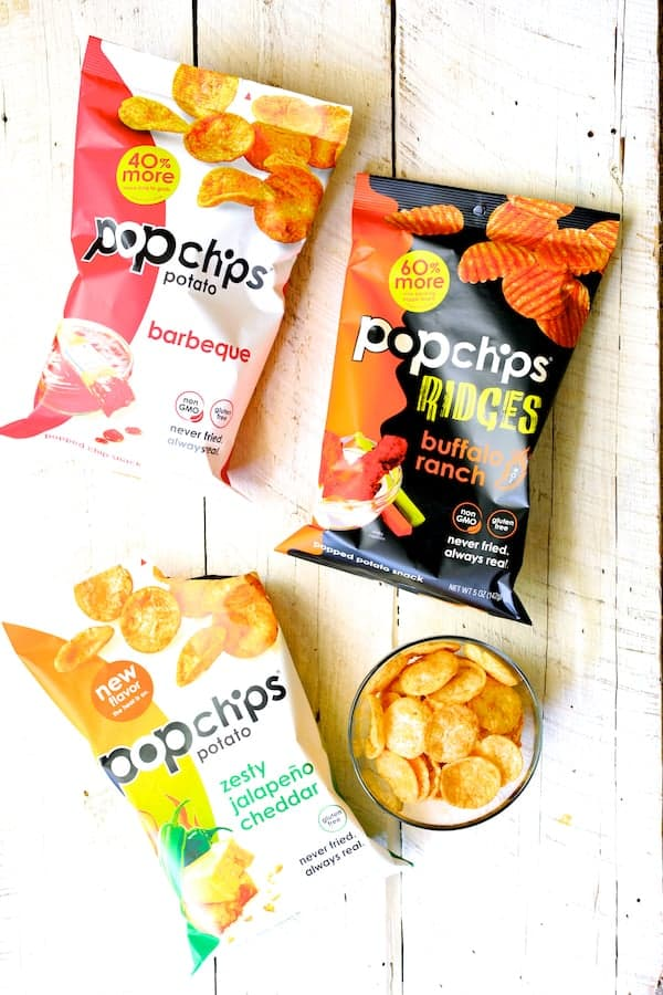 Southwestern Spice Grilled Pork Chops with Plum Jalapeño Salsa - Photo of Popchips