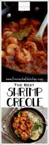 Sharing The Best Shrimp Creole!  Friends, this is IT!  This New Orleans-inspired dish is one I've been making for clients for as long as I've been a personal chef and this recipe never fails to please! #fish #seafood #shrimp #NewOrleans #shrimpcreole