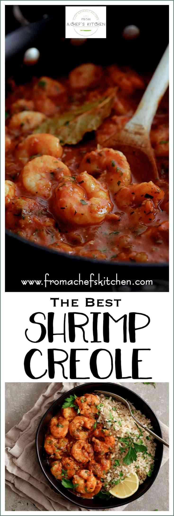 Sharing The Best Shrimp Creole!  Friends, this is IT!  This New Orleans-inspired dish is one I've been making for clients for as long as I've been a personal chef and this recipe never fails to disappoint!  #fish #seafood #shrimp #NewOrleans #shrimpcreole