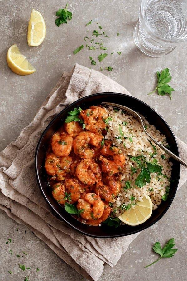 The Best Shrimp Creole