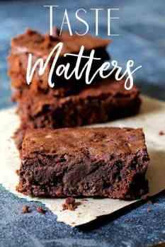 Taste Matters - Brownies