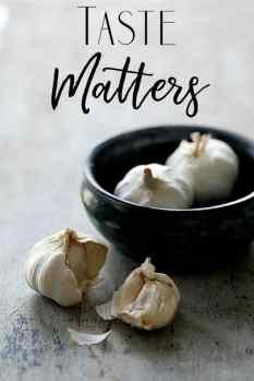 Taste Matters - Garlic