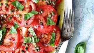 Easy Fresh Tomato Salad