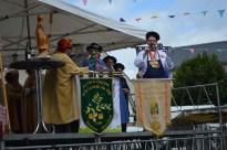 parrainage de la Confrérie de la Truffade par la Commanderie du fromage Saint Nectaire et les Talmeliers du bon Pain le 23.07.17 à Tauves