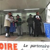 Remise de prix du concours du fromage St nectaire