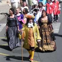 Défilé St Nectaire en Majesté