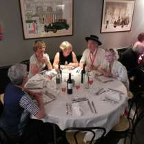 Repas des membres et invités du Grand chapitre annuel