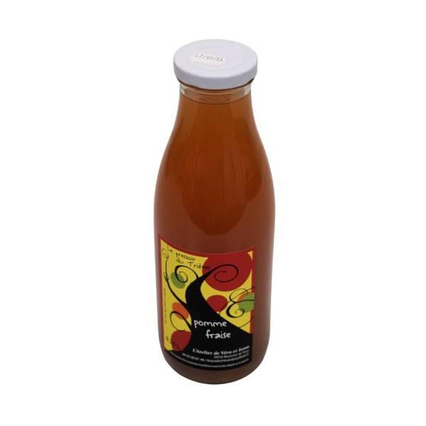 Jus de fruits pomme fraise 75cl