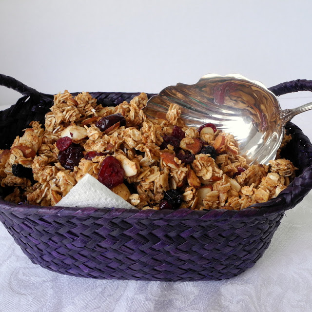 Homemade Lower Fat Granola