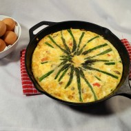Spring Asparagus Frittata For Breakfast Ideas Mondays