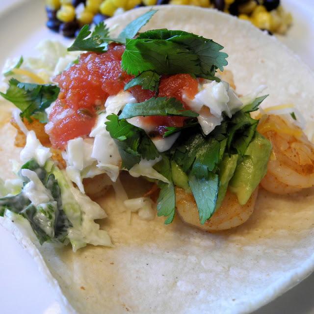 Shrimp Soft Tacos for Cinco de Mayo - From Calculu∫ to ...