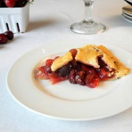 Sweet Cherry Pie and What to Do with Pie Crust Scraps