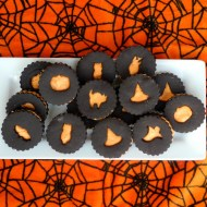 Halloween Sandwich Cookies