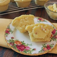 Meyer Lemon and Olive Oil Muffins with Honey Rose Compound Butter