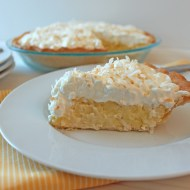 Martha Stewart's Coconut Cream Pie for Pi Day