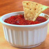 Restaurant Style Salsa Adapted from The Pioneer Woman