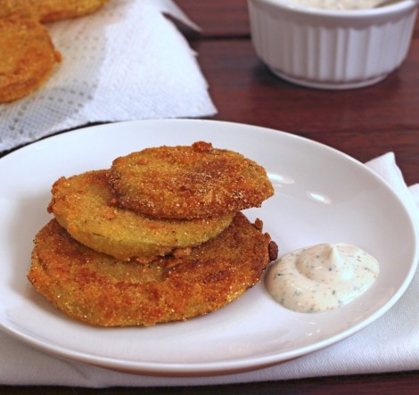 Fried Green Tomatoes - www.fromcalculustocupcakes.com