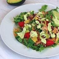 Grilled Chicken Avocado Salad #thesaladbar