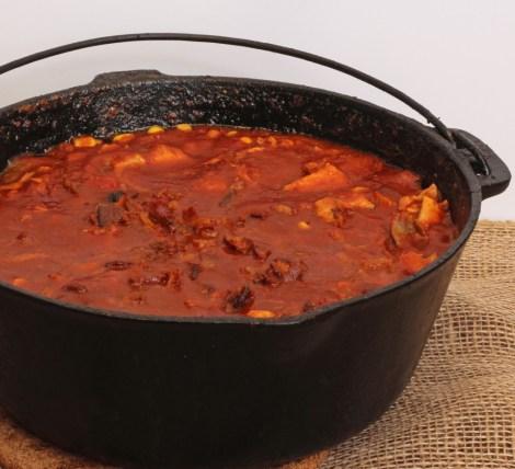 BBQ Turkey Soup