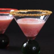 White Chocolate Cherry Martini