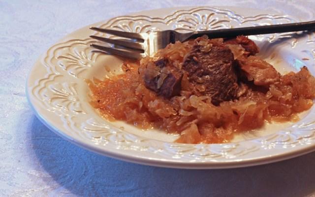 Sauerkraut and Pork